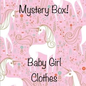 15 Piece 6 Month Baby Girl Mystery Box